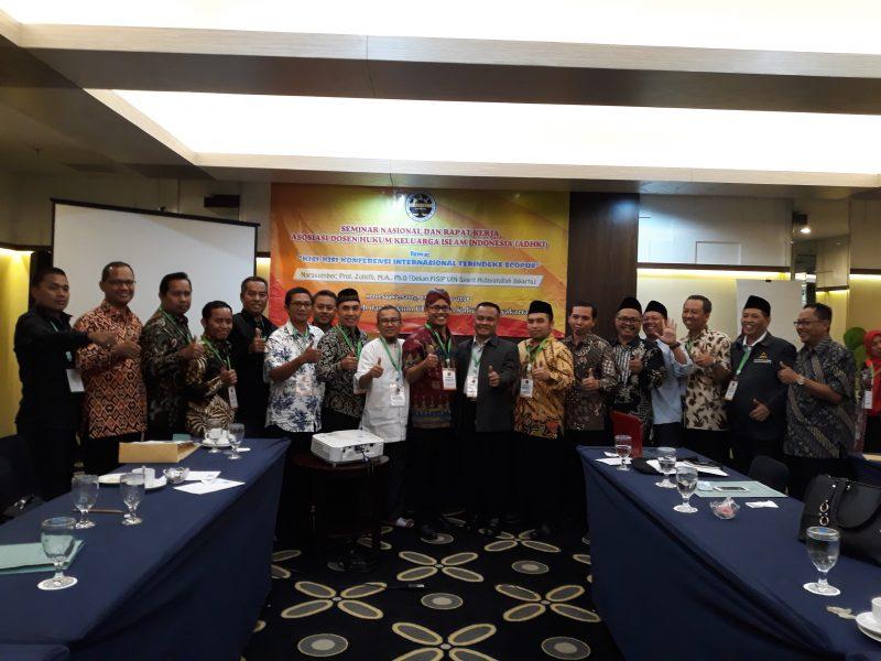 Seminar Nasional dan Raker ADHKI